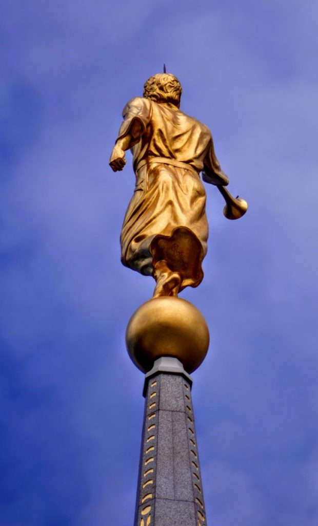 Mormon Statue