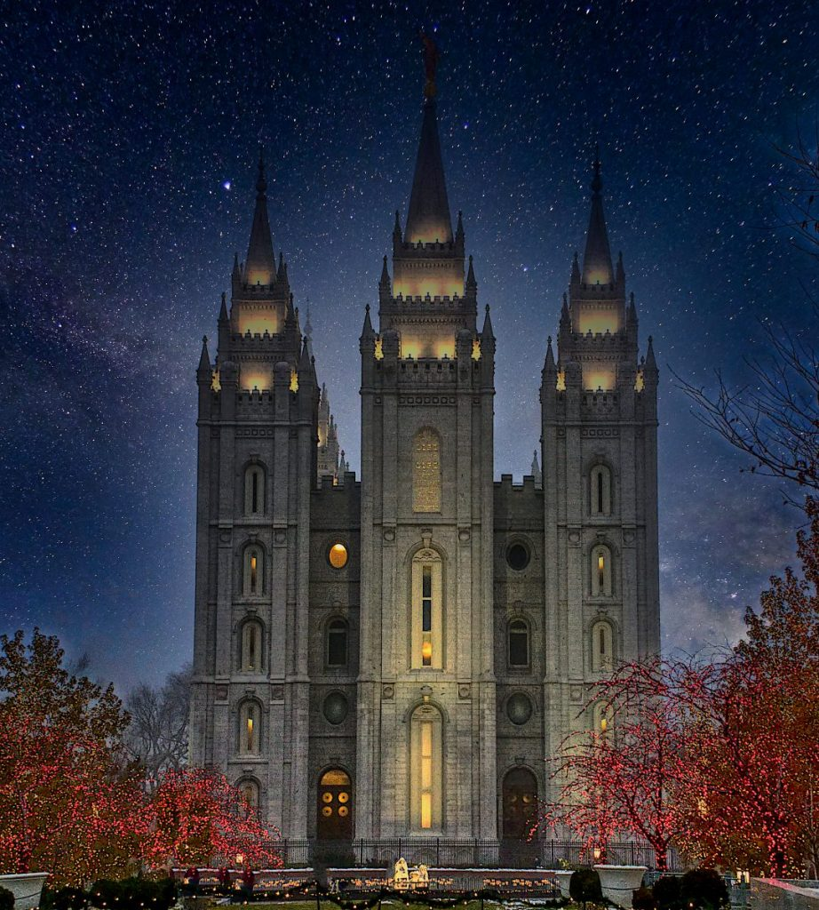 A large and spacious building which LDS call a temple